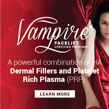 The Vampire Facelift is a custom-designed procedure that combines the science of hyaluronic acid (HA) fillers, such as Restylane and Juvederm; Platelet Rich Plasma and the artful eye of a skilled physician to deliver youthful, natural beauty that is as unique as you are.