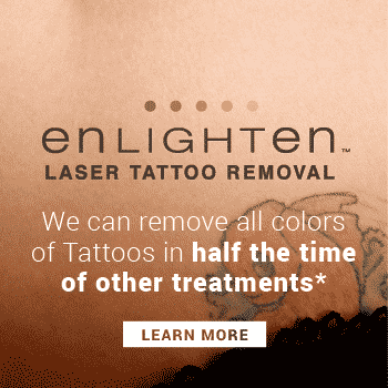 Ready to get rid of that tattoo? With pico technology we can remove all colors on all skin types in half the time of other treatments. Call 206-935-5689 to schedule your consultation.